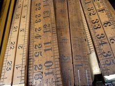 Inch by Inch...  Vintage Rulers at Portobello Road Market  Pelicanlake71  flickr.com