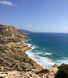 Matala Red Beach : elle se mérite, mais ça vaut le détour