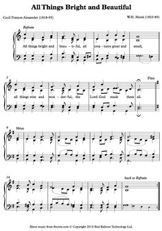 piano all things brightPNO sheet music - 8notes.com