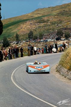 1970 Targa Florio - Björn Waldegård, teaming up with Richard Attwood and racing for John Wyer Automotive Engineering, finishing 5th, on Porsche 908/03.