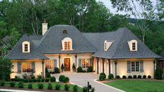French Country Home model.  http://www.castlehomes.com/
