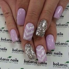 Lilac Nails Manicure | Easy Nail Art