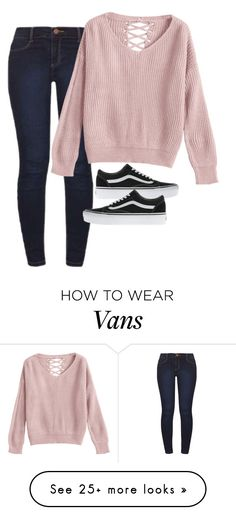 """""""Untitled #5503"""" by xoxominyeol on Polyvore featuring Dorothy Perkins and Vans"""