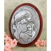Share blessings and love with these exquisite Madonna and Child plaque favors The Madonna and Child is one of Christianity's most treasured icons. And, this elegant Madonna and Child plaque makes a memorable memento of your event that is a blessing to beh Christening Favors, Baptism Favors, Baptism Party, Baptism Ideas, Candle Wedding Favors, Personalized Wedding Favors, Wedding Party Favors, Catholic Baptism, Unique Baby Shower Favors