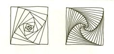 PARADOX, and then some: The elegant curves show best if the lines are close together. See the difference.