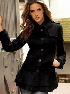 Cute Ruffled Coat! Guess, $148