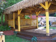 Outdoor Tiki bar Stools for Sale — Jbeedesigns Outdoor Outdoor Pub Table, Outdoor Tiki Bar, Outdoor Bar Furniture, Outdoor Bar Stools, Outdoor Rooms, Outdoor Stuff, Tiki Bar Stools, Bar Stools For Sale, Tiki Bar Decor