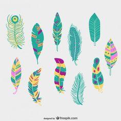 ilustracion plumas - Buscar con Google…