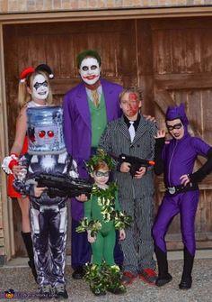Batman Villains - Homemade costumes for families