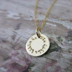 Jewish Jewelry Ani Ledodi Hebrew Necklace Jewish Pendant Silver and Gold Star of David Round Pendant Ani L/'dodi Necklace Romantic Gift