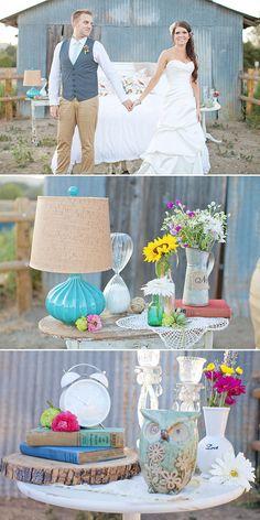 Inspiration ~ Styled Post-Wedding Shoot!