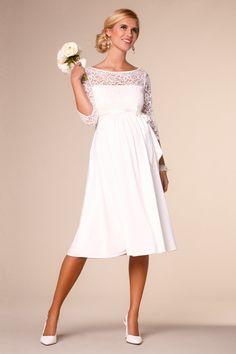 Umstandsbrautkleid mit Rückenausschnitt   Alles zeigen   Braut Umstandsmode   Mama   Mamarella