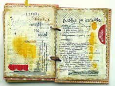 Art journal inspiration: recipe for dinner via Mumkaa_ on Flickr