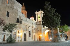 Mellieha, Malta at Night