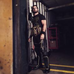 .@WWERollins opens the show contemplating his actions against #DemonKane…