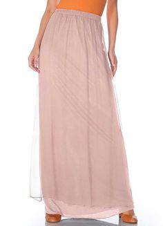 #PerfectPastels #Freemans Patrizia Dini Silk Skirt