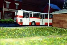 Model autobusu KAROSA B-931 DPMB Brno v H0