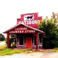 Catsburg Country Store, Durham, NC -- built in the 1920's.