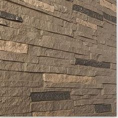 Behind the Bar:  BuildDirect®:  StoneWorks Faux Stone Siding - Stacked Stone $8.95/s.f.