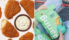 TheUltimate Guide to the Best Vegan Chicken Brands | VegNews Meatless Chicken, Vegan Fried Chicken, Vegan Fries, Vegan Burgers, Chicken Brands, Vegan Market, Plant Based Burgers, Milk Ingredients, Food Tech