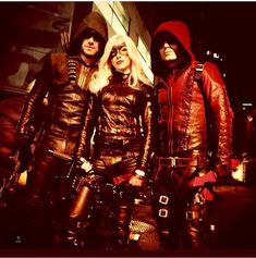 Classic Arrow, Canary and Arsenal