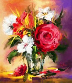 Spring scent by Mishelangello on DeviantArt Digital Prints, Digital Art, Digital Paintings, My Flower, Flowers, Photoshop Cs5, Paintings I Love, Creative Art, Deviantart