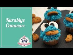 Kurabiye Canavarı Muffin Süsleme I Kenton'la Yaparım Gururla Sunarım - YouTube Cupcake, Muffin, Desserts, Youtube, Food, Tailgate Desserts, Deserts, Cupcakes, Essen