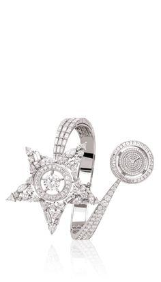 Watch in 18K white gold and diamonds. High precision quartz movement. Price upon request.