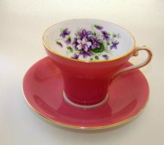 Vintage Aynsley China Teacup and Saucer by TheOldVintageCottage, $35.00