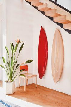 27 Super Ideas For Exterior Design Store Los Angeles Surfboard Decor, Deco Rose, Turbulence Deco, Ideas Prácticas, Decor Ideas, Design Blogs, Design Ideas, Design Trends, Custom Cushions