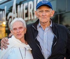 Sally Borchert and her brother, Paul Jeter, saw my father Billy Graham at the Liberty Bowl in Memphis, TN, in 1978. Tonight, they attended the last stop on the #DecisionAmerica Tennessee Tour. Liberty Bowl, Billy Graham, Her Brother, Happenings, My Father, Memphis, Sally, Tennessee, America