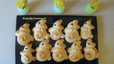Easter Projects, Easter Crafts, Easter Recipes, Sushi, Deserts, Food And Drink, Sweets, Baking, Breakfast