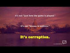 Dear 2016 Candidates: Stop Pretending Politics Isn't Corrupt | End corruption. Defend the Republic.