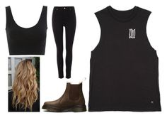 """Ashton Irwin Inspired HEY EVERYBODY Outfit"" by fashionoftv-05 ❤ liked on Polyvore featuring Pied a Terre and Dr. Martens"