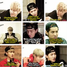 Wu Yifan Says On EXO's Showtime.. (EXO Showtime could be really boring without Kris funny personality)