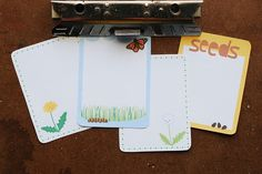 Wild Olive: printable: springy project life cards on kitschy d...