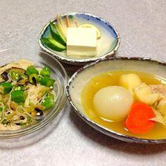 ポトフ、 オクラ素麺、 冷奴 ですf^_^;) - 45件のもぐもぐ - 息子が作ってくれたポトフ by orieueki