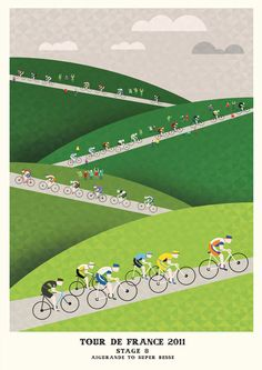 http://www.crayonfire.co.uk/30440/304969/work/tour-de-france-prints-%28stages-6-10%29