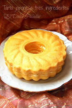 El dulce paladar: Tarta de queso japonesa de tres ingredientes (Tradicional y en Fussioncook)