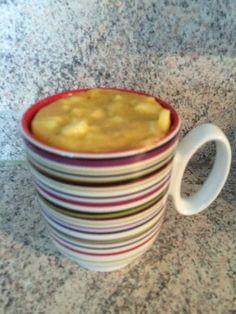 Mug cake à la pomme - Recette de cuisine Marmiton : une recette