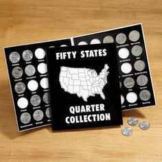 50 States Quarter Album $5.99           Now: $3.99