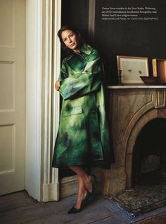 Christy Turlington | Minimal Fashion Editorial | Zeit Cover