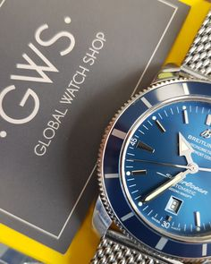 Breitling Superocean Heritage 46mm Blue dial A1732016/C734