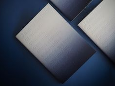 london-based onedesignspace has produced a series of gradient notebooks as a limited edition capturing time in three different colour transitions. Graphic Design Print, Graphic Prints, Typography Prints, Typography Design, Print Layout, Menu Layout, Buch Design, Communication Design, Business Card Logo