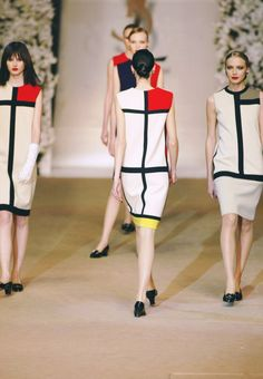 YSL x Mondrian