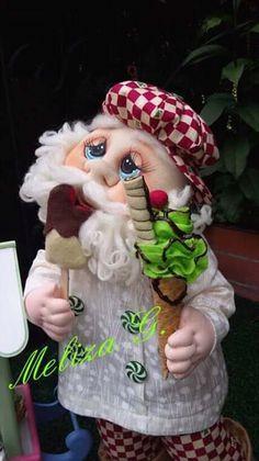 Christmas Crafts, Christmas Decorations, Xmas, Christmas Ornaments, Holiday Decor, Childrens Gifts, Sewing Crafts, Santa, Diy