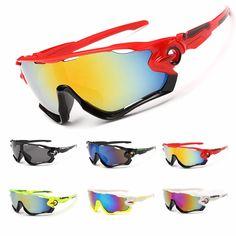 Brand New Outdoor Sport Eyewear Men Women Bike Bicycle Glasses Skiing Sunglasses Mtb Sports Goggles