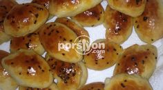 Kabartma Tozlu Poğaça Pretzel Bites, Potatoes, Bread, Fruit, Vegetables, Food, Potato, The Fruit, Veggies