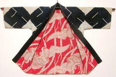 Man kumi happi, lining  Daily Japanese Textile IMG_1191