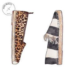 Good objects - Trending : Espadrilles part II - Saint Laurent leopard print…